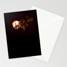 Night light - an illustrated poem Stationery Cards