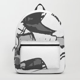 Naginata Sumi-E by Takemi Backpack