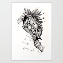 Capgras Art Print