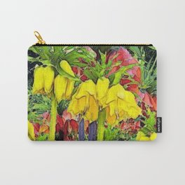 YELLOW CROWN IMPERIAL WATERCOLOR Carry-All Pouch