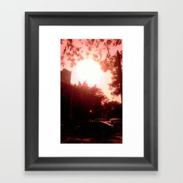 Waiting for Time Framed Art Print