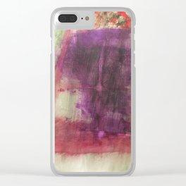 Magisches Gartenfenster Clear iPhone Case