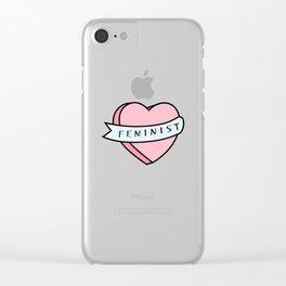 Feminist Clear iPhone Case