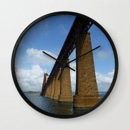 Under the Forth Bridge, Scotland Wall Clock