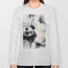 Eating Disorder Self Nude Long Sleeve T-shirt