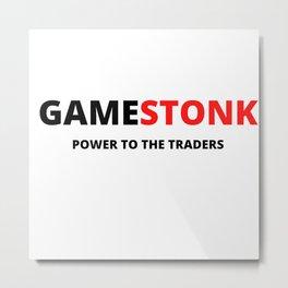 Gamestop|Gamestonk Metal Print