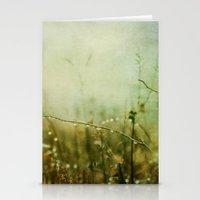 meditation Stationery Cards featuring Meditation by Olivia Joy StClaire