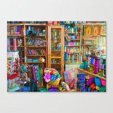 Kitty Heaven Canvas Print