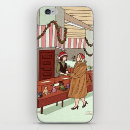 carol and therese iPhone Skin