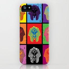 King Tut Warhol iPhone Case