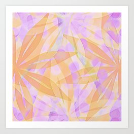 A Spring Abstract Art Print