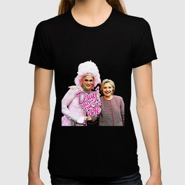 Arial & Hillary: Drag Out the Vote T-shirt