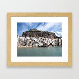 Cefalù Framed Art Print