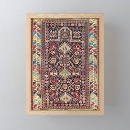 Akstafa Southeast Caucasus Niche Rug Print Framed Mini Art Print