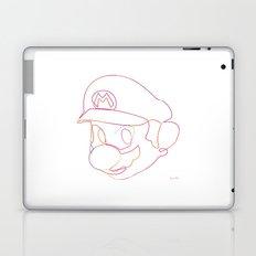 One line Supermario Laptop & iPad Skin