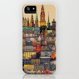 Copenhagen Facades iPhone Case