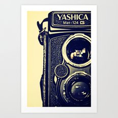Yashica Cam Art Print