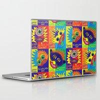 cyclops Laptop & iPad Skins featuring Cyclops Monster :-) by Sylvie Heasman