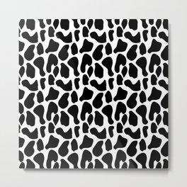 Dalmatian pattern Metal Print