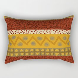 Africa Stripes pattern Rectangular Pillow