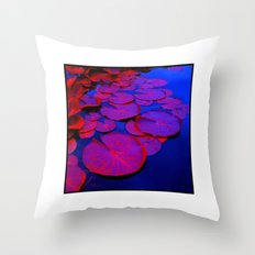 lily pads I Throw Pillow