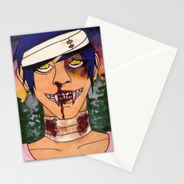 Vampire Guys Will Never Hurt You Stationery Cards