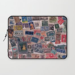 20th Century through stamps Laptop Sleeve