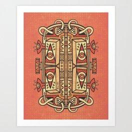 Tribalien Art Print