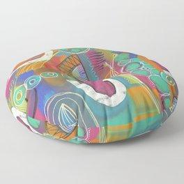 Celebration of color Floor Pillow