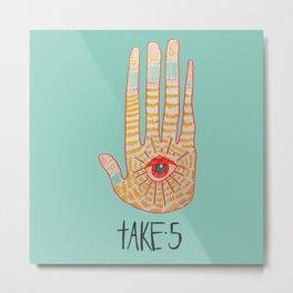 TAKE 5 Metal Print