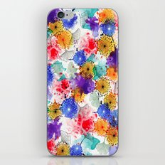 Printed Silk Exotic Garden iPhone & iPod Skin