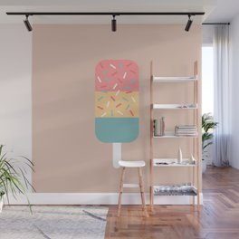 Popsicle (Peach) Wall Mural