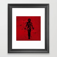 the connection Framed Art Print