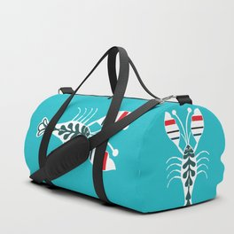 Summertime Lobster Duffle Bag