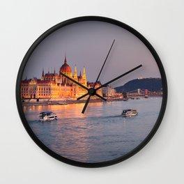 Budapest Parliament. Wall Clock