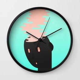 Brain combustion Wall Clock