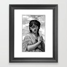 DIANA I Framed Art Print