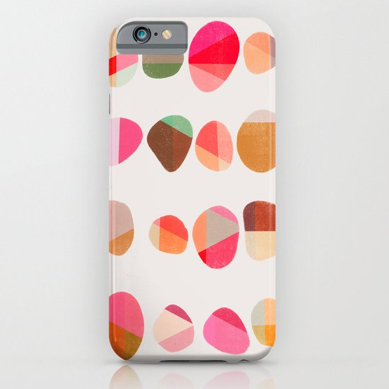 Painted Pebbles 5 iPhone & iPod Case