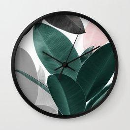 Leaf Play Wall Clock