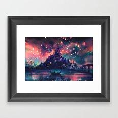 The Lights Framed Art Print