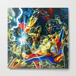 wanits super woman Metal Print