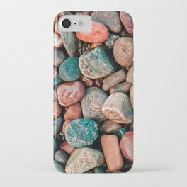 Pebbles of Isle of Skye iPhone Case