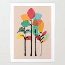 Tropical Groove Art Print