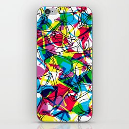 Clubmaster Shuron Glasses Party iPhone Skin