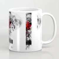japan Mugs featuring Japan by Annabelle Vauvrecy
