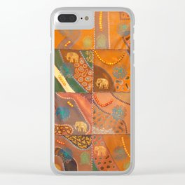 """Elephant Lodge"" by ICA PAVON Clear iPhone Case"