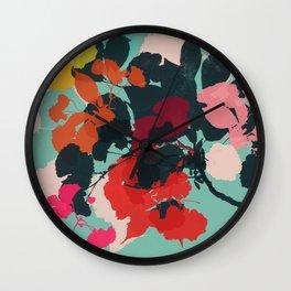 cherry blossom 5 Wall Clock