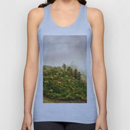 Autumn valley in the cloud Unisex Tank Top
