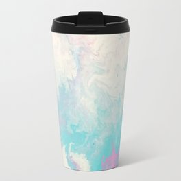 Fluid Ocean Marble Travel Mug