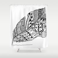 writer Shower Curtains featuring Writer Love by Vermont Greetings